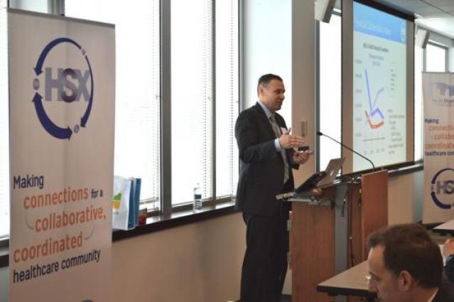 HealthShare Exchange Executive Director, Martin Lupinetti