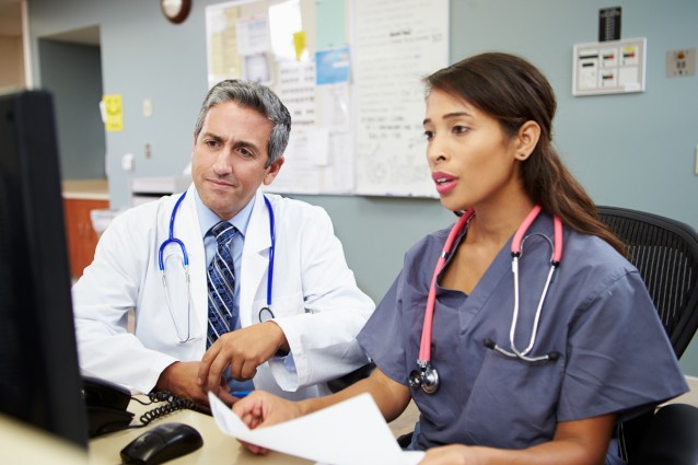 Medical image of doctors